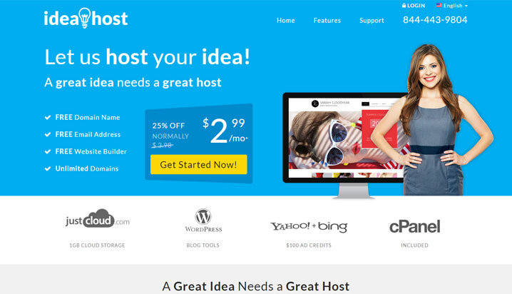 ideahost reviews